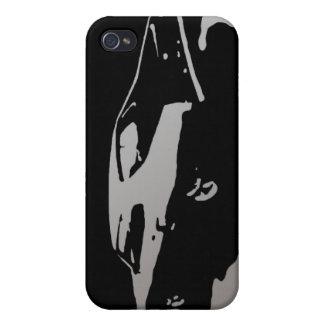 Mercury Marauder 1969 - Silver on dark case iPhone 4 Covers