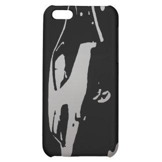 Mercury Marauder 1969 - Silver on dark case iPhone 5C Case