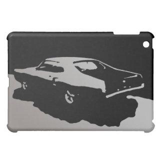 Mercury Marauder 1969 - Silver on dark iPad case