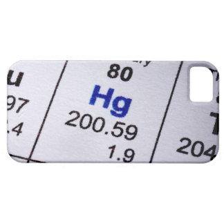 Mercury molecular formula iPhone 5 cover