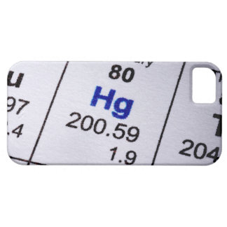 Mercury molecular formula iPhone SE/5/5s case