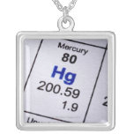 Mercury molecular formula jewelry
