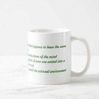 Mercury Classic White Coffee Mug