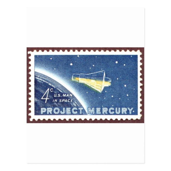 Mercury Project Postcard