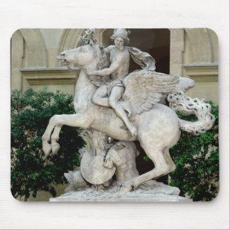 Mercury riding Pegasus Mouse Pad