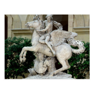 Mercury riding Pegasus Postcard