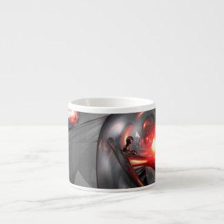 Mercury Rising Abstract Espresso Cup