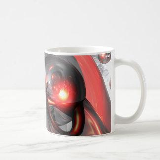 Mercury Rising Abstract Mug