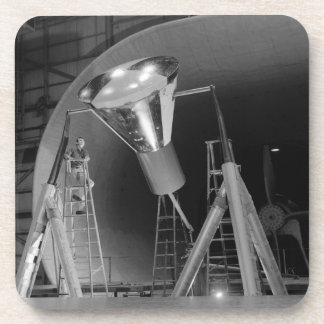 Mercury Space Capsule Undergoes Testing 1959 Beverage Coaster