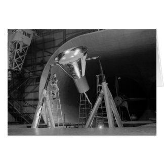Mercury Space Capsule Undergoes Testing 1959 Card