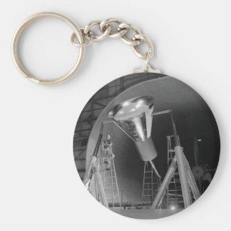 Mercury Space Capsule Undergoes Testing 1959 Basic Round Button Keychain