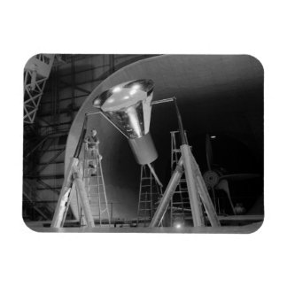 Mercury Space Capsule Undergoes Testing 1959 Magnet