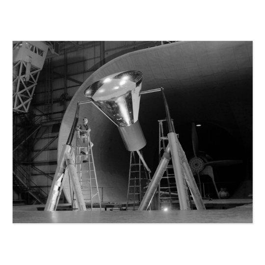 Mercury Space Capsule Undergoes Testing 1959 Postcard