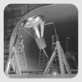 Mercury Space Capsule Undergoes Testing 1959 Sticker
