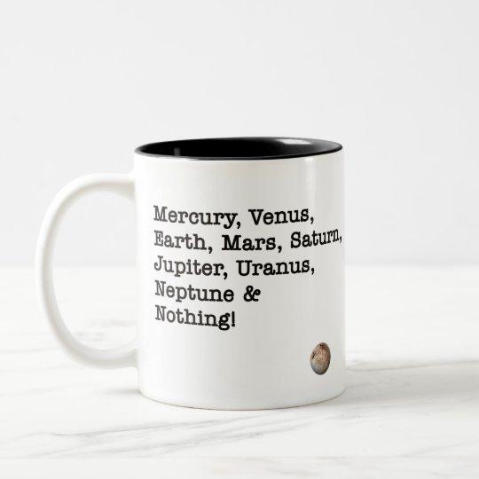 Mercury, Venus ... & Nothing! Two-Tone Coffee Mug