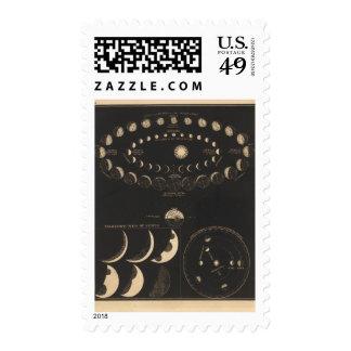 Mercury, Venus Postage Stamp