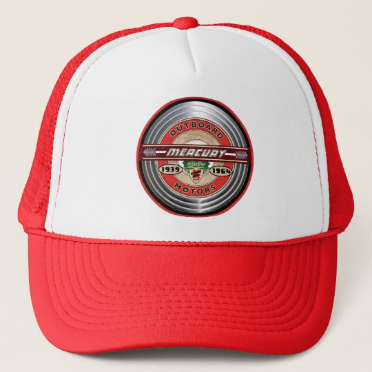 5ce18c66 Mercury Vintage Outboard motors Trucker Hat | Zazzle.com