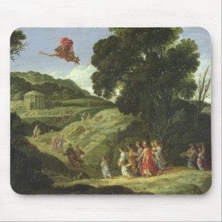 Mercury y Herse, c.1605-08 (aceite en lona) Alfombrillas De Ratones