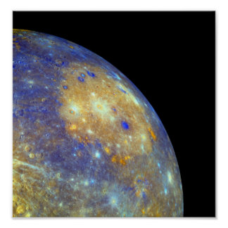 Mercury's Caloris Basin Poster