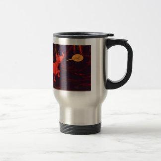 Mercury's Dog 15 Oz Stainless Steel Travel Mug