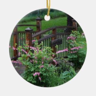 Mercury's Garden Ceramic Ornament
