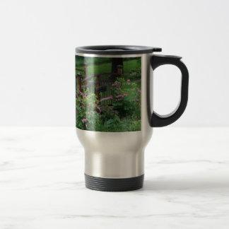 Mercury's Garden 15 Oz Stainless Steel Travel Mug