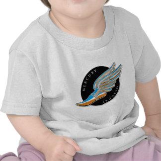 Mercury's Wings T Shirts