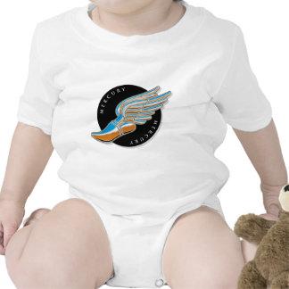 Mercury's Wings Tee Shirts