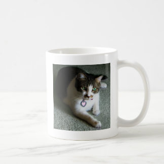 Mercutio, the Contemplative Cat Coffee Mug