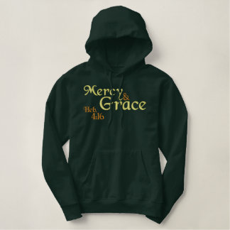 Mercy and Grace Christian hoodie