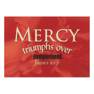 Mercy Large Business Cards (Pack Of 100)