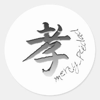 Mercy Classic Round Sticker
