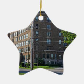 Mercy College Ceramic Ornament