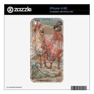 Mercy: David Spareth Saul's Life, 1854 Decals For The iPhone 4