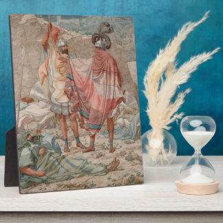 Mercy: David Spareth Saul's Life, 1854 Plaque