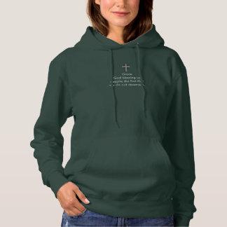 Mercy & Grace Women's Hooded Sweatshirt