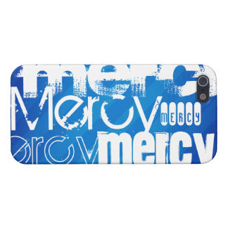 Mercy; Royal Blue Stripes iPhone 5/5S Covers