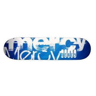 Mercy; Royal Blue Stripes Skate Board Decks