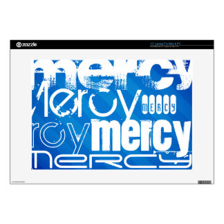 Mercy; Royal Blue Stripes Decals For Laptops