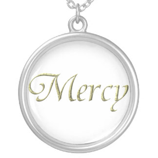 """""""Mercy"""" Sterling Silver Necklace"""