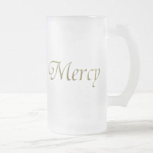 """Mercy"" Virtues Product Mugs"