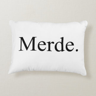 Merde pillow for ballet dancers - good luck