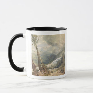 Mere de Glace, in the Valley of Chamouni, Switzerl Mug