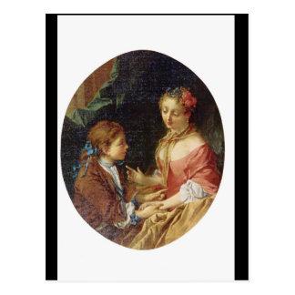 Mere et Enfant', Francois_Groups and Figures Postcard