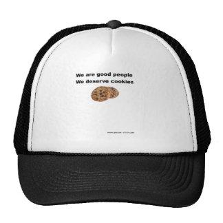 Merecemos las galletas gorras