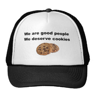 Merecemos las galletas gorros bordados
