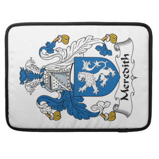 Meredith Family Crest Sleeve For MacBook Pro