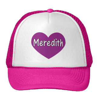 Meredith Mesh Hats