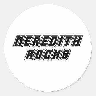 Meredith Rocks Classic Round Sticker