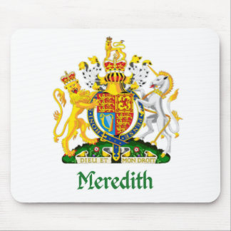 Meredith Shield of Great Britain Mouse Pad